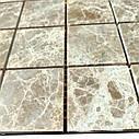 Мраморная мозаика Emperador Light D полированная МКР-3П (47x47), фото 3