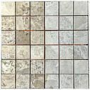 Мраморная мозаика Emperador Light G матовая МКР-3СН (47x47), фото 4