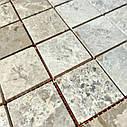 Мраморная мозаика Emperador Light G матовая МКР-3СН (47x47), фото 6