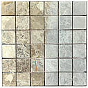 Мраморная мозаика Emperador Light G матовая МКР-3СВ (47x47), фото 4