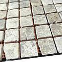 Мраморная мозаика Emperador Light G антик МКР-2СВА (23x23), фото 3