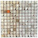 Мраморная мозаика Emperador Light G антик МКР-2СВА (23x23), фото 4