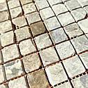 Мраморная мозаика Emperador Light G антик МКР-2СВА (23x23), фото 6