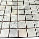 Мраморная мозаика Emperador Light G матовая МКР-2СВ (23x23), фото 3