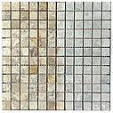 Мраморная мозаика Emperador Light G матовая МКР-2СВ (23x23), фото 4