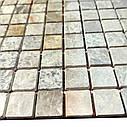 Мраморная мозаика Emperador Light G матовая МКР-2СВ (23x23), фото 6