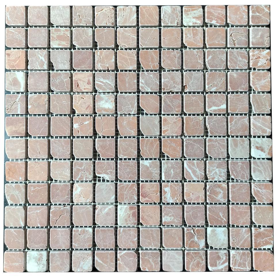 Мраморная мозаика Terracotta Mix антик МКР-2СВА (23x23)