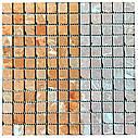 Мраморная мозаика Terracotta Mix антик МКР-2СВА (23x23), фото 4
