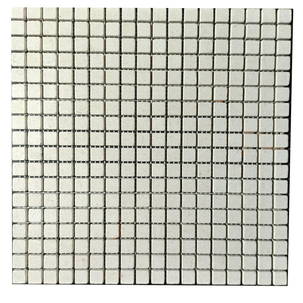 Мраморная мозаика Calizia Marbella матовая МКР-4СВ (15x15)
