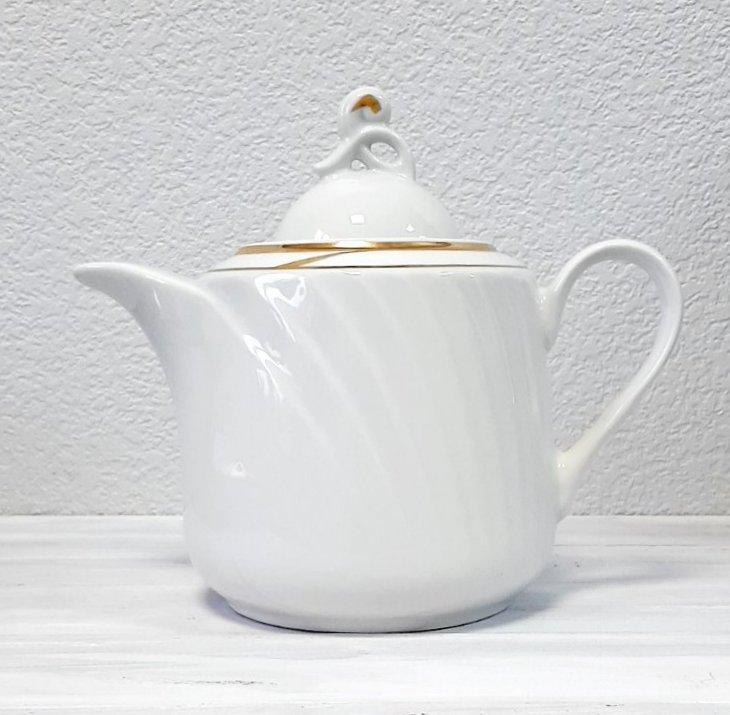 Чайник заварочный белый Голубка 1000 мл 0С0507Ф34 Добруш