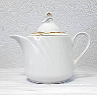 Чайник заварочный белый Голубка 1000 мл 0С0507Ф34 Добруш, фото 1