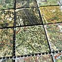 Мраморная мозаика Bidasar Green матовая МКР-3СВ (47x47), фото 6