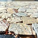 Мраморная мозаика Bidasar Brown полированная МКР-ХП (Хаотичная), фото 3
