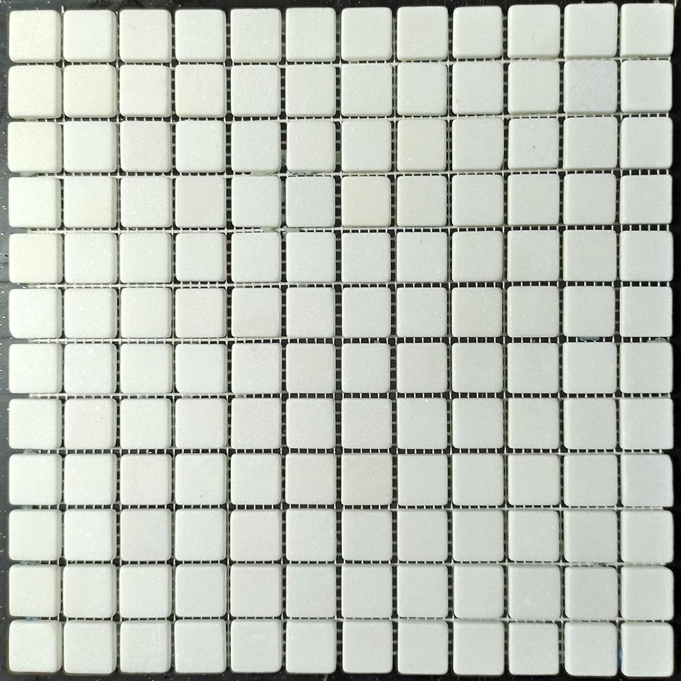 Thassos мозаика из мрамора матовая МКР-2СВ (23x23)