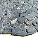 Emperador Dark мозаика из мрамора матовая МКР-ХСВ (Хаотичная), фото 3