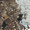 Emperador Dark мозаика из мрамора матовая МКР-ХСВ (Хаотичная), фото 6