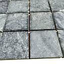 Тёмно-серая мозаика из мрамора антик МКР-3СН (47x47), фото 3