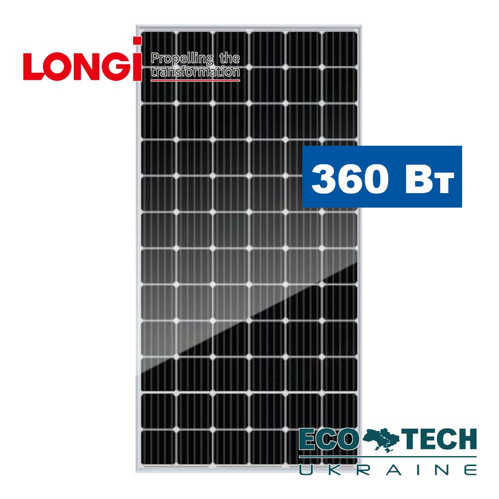 Солнечные батареи Longi Solar LR6-72РЕ 360W PERC монокристаллическая 360 Вт 5 BB