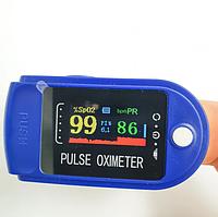 Пульсоксиметр медичний на палець портативний пульсометр оксиметром Pulse Oximeter вимірювання Рівня Кисню