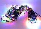 Светодиодная гирлянда сетка, 96 светодиодов, IP20, фото 3