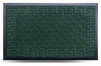 Коврик придверный прямоугольный Dariana МХ зеленый 40x60см