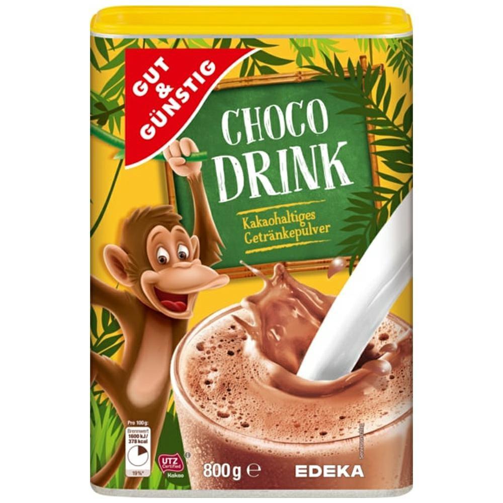 Какао- напій G&G Choco Drink Kakao 800гр