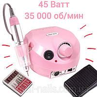 Машинка / Фрезер для маникюра и педикюра ZS-601 (DM-202) на 45W 35 000 об/мин (аппаратный маникюр для ногтей)
