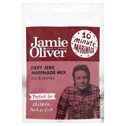 Приправа Fiery Jerk (смесь копченой паприки, перца и трав) Jamie Oliver, 30г, фото 2