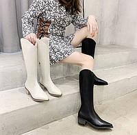 Женские сапоги казаки. Модель 32147, фото 6