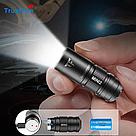Фонарик наключник TrustFire MINI2 USB 220LM Фонарь Брелок + Аккумулятор мощный, фото 2