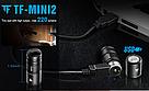 Фонарик наключник TrustFire MINI2 USB 220LM Фонарь Брелок + Аккумулятор мощный, фото 3