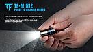Фонарик наключник TrustFire MINI2 USB 220LM Фонарь Брелок + Аккумулятор мощный, фото 6