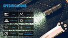 Фонарик наключник TrustFire MINI2 USB 220LM Фонарь Брелок + Аккумулятор мощный, фото 7
