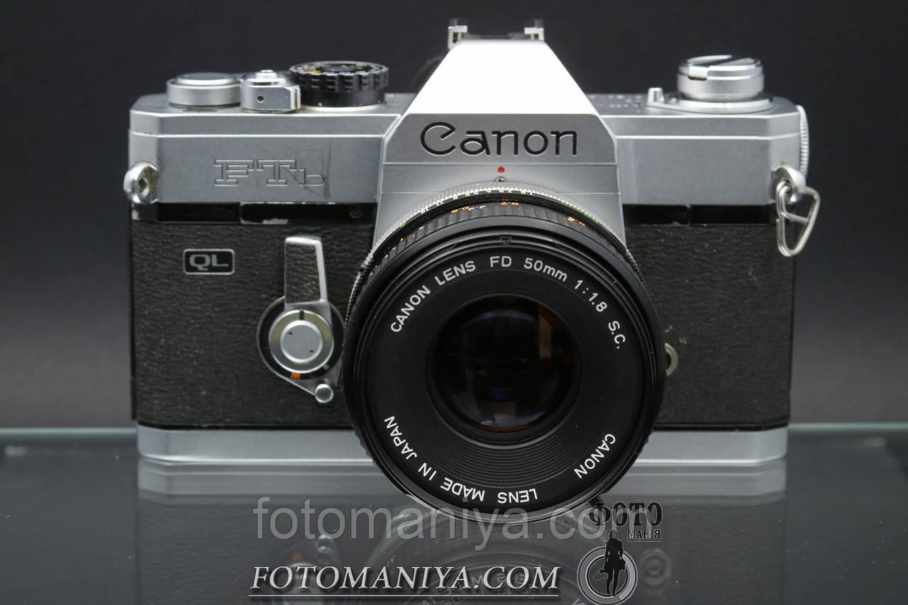 Canon FTb kit Canon FD 50mm f1.8 S.C