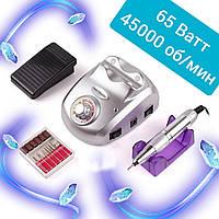 Машинка/Фрезер для маникюра и педикюра Nail Drill Pro ZS-603 65W 45000 об/мин(аппаратный маникюр для ногтей)