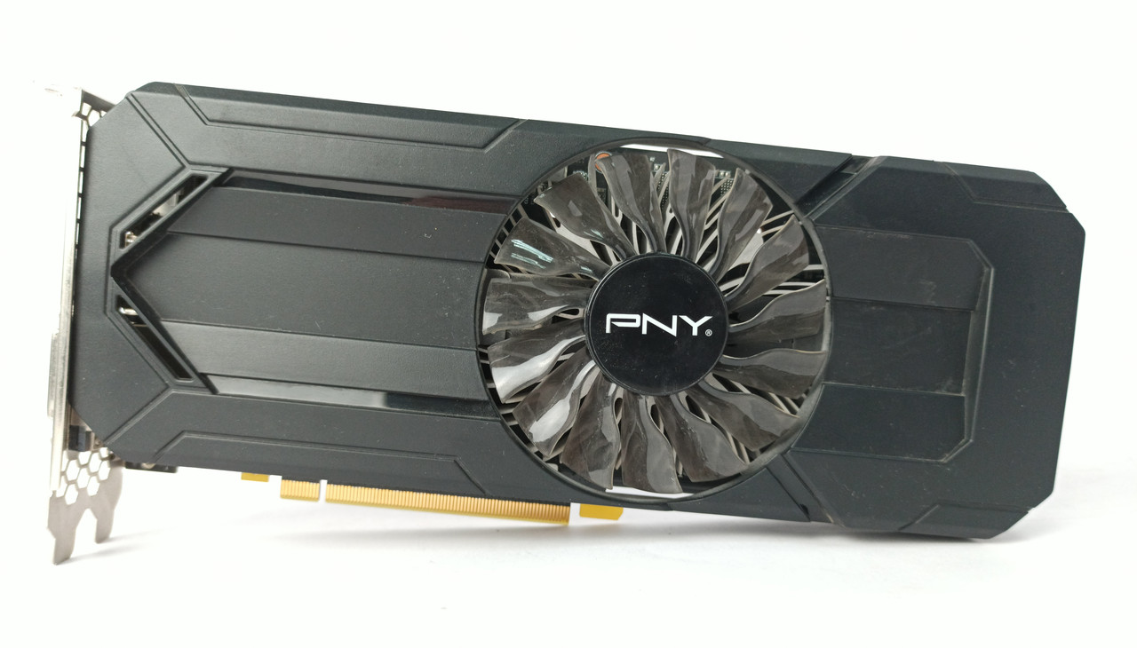 Видеокарта PNY GTX 1060 (3GB/GDDR5/192bit) GF1060GTX3GEPB БУ