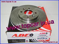 Гальмівні диски передні Renault Подальше I ABS 259mm*20.6 ABE C3R005ABE