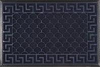 Коврик придверный прямоугольный Dariana МХ синий 60x90см, фото 1