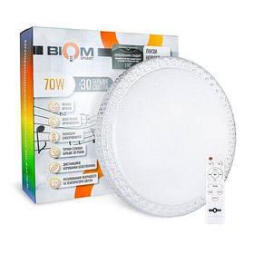 SMART Люстра Biom RGB 70W с д/у музыкальный BT APP