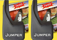 Citroen Jumper 1995-2006 рр. Бризковики з поглибленнями (2шт)