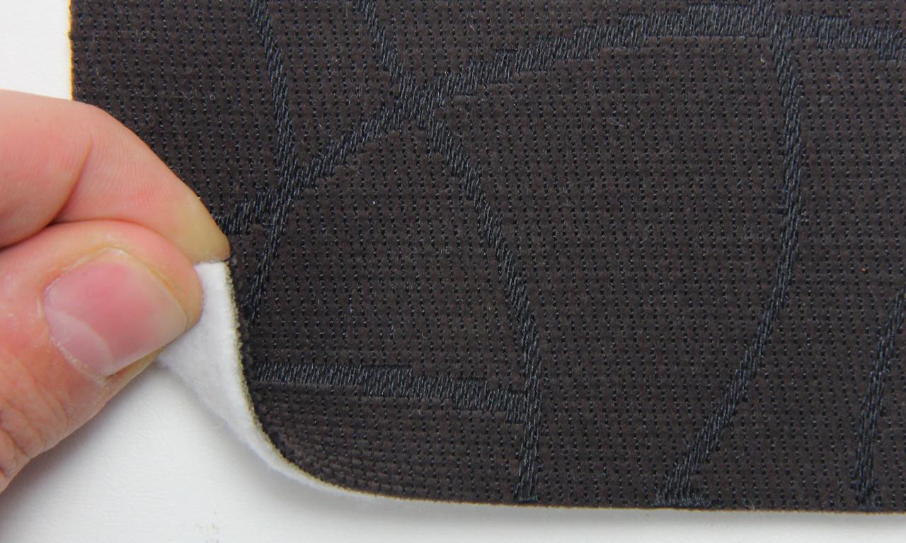 Автоткань оригинальная для центра сидений (темно-коричневой 7416), основа на войлоке, толщина 3мм, шир 140см