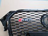 Решетка радиатора Audi A4 2012-2015 RS4, фото 2