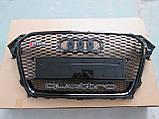 Решетка радиатора Audi A4 2012-2015 RS4, фото 4