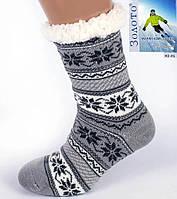 Сірий Тапочки-шкарпетки з антиковзною поверхнею чоловічі 40-45р