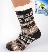 Чоловічі Теплі Тапочки-шкарпетки з антиковзною поверхнею 40-45р