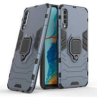 Чехол Ring Armor для Vivo V17 Neo Blue