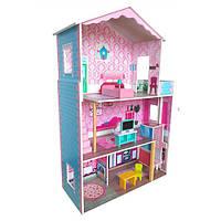 Будиночок для ляльок збірний MD 2579 дерев'яний