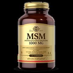 Метилсульфонилметан МСМ Solgar MSM 1000 (120 таб) солгар