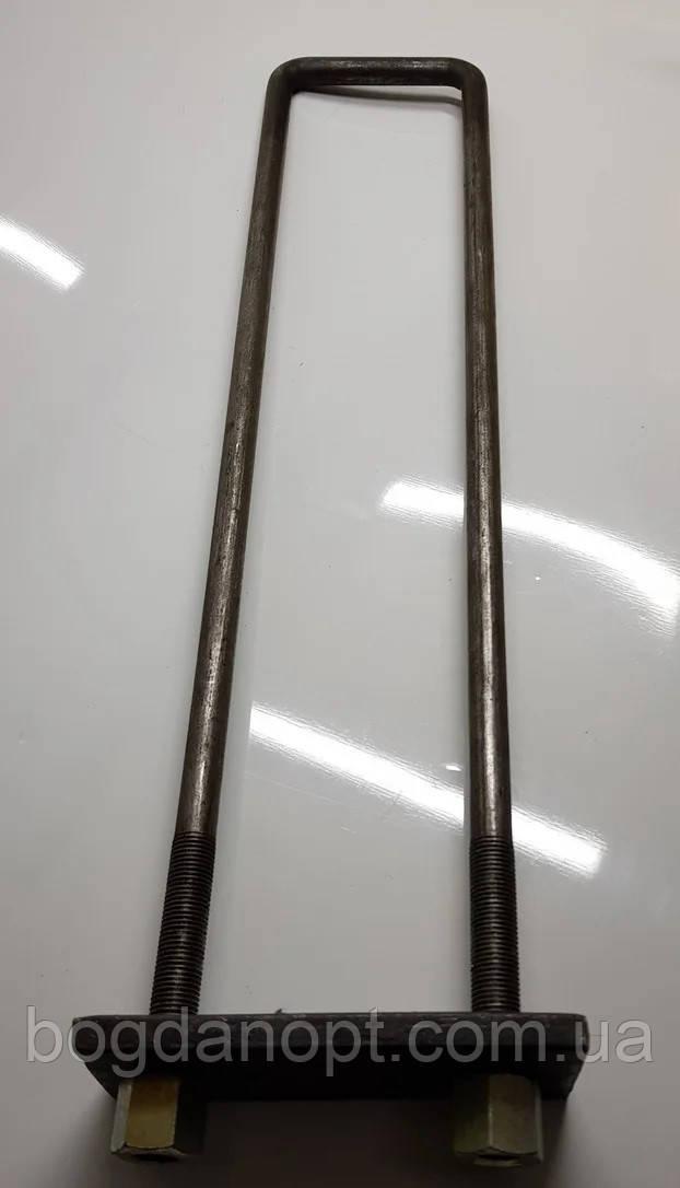 Стремянка кузовная универсальная Н-450 (рамная) + пластина + гайка