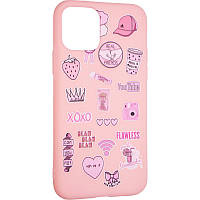 Чохол бампер TPU Print для Samsung Galaxy S20 FE G780 Pink
